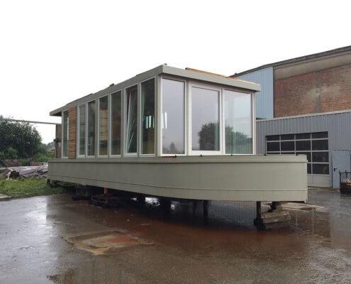 Hausboot-BN002 Im Bau