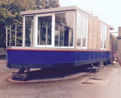 Hausboot-BN002 Neubau