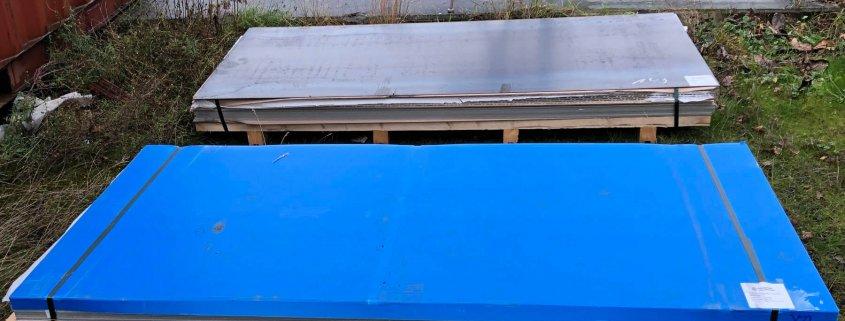 Material Neubau Hausboot